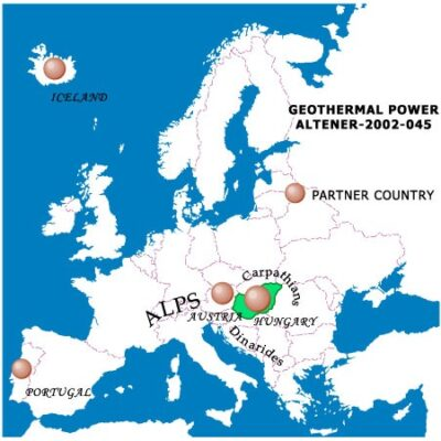 ALTENER – Geothermal Power Potenital in Europe